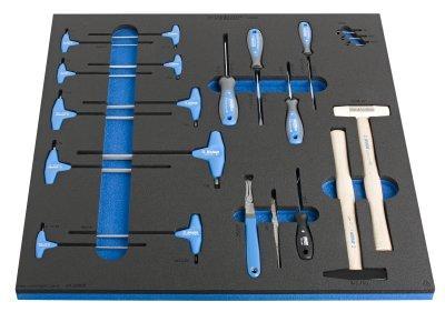 Набор инструментов в ложементе 1 для арт. 2600D - SET1-2600D UNIOR