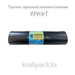 Мешки для мусора ПВД 180л (10шт в рулоне) А черные Extra