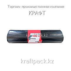 Пакет ПВД для мус. в рулоне  90х110, (180 л), Супер прочные, 10 шт/рул