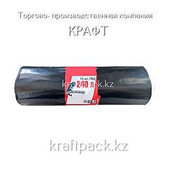 Пакет ПВД для мус. в рулоне 90х140, (240 л), Супер прочные, 10 шт/рул, 10 рул/кор