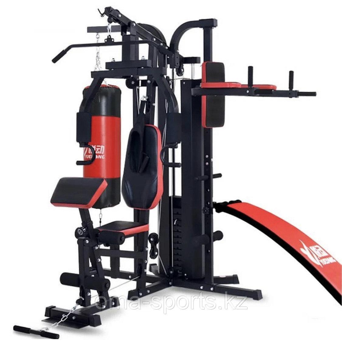 Тренажер 3-Station Gym F-8015 из 5 частей