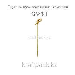 "Пика бамбуковая ""Узелок"" для канапе 9 см (100 шт/уп)"