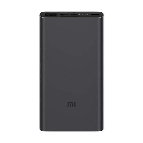 Портативное зарядное устройство Xiaomi Mi Power Bank 10000 mAh 3 Черный