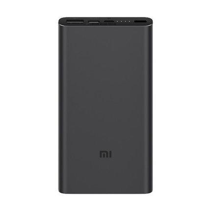 Портативное зарядное устройство Xiaomi Mi Power Bank 10000 mAh 3 Черный, фото 2