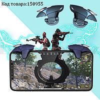 Триггеры игровые контроллеры универсальные карманные для смартфона Blue shark CH-5 синяя