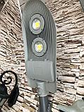 Консольный уличный светильник светодиодный 100 ватт, СКУ, светильник на опоры, фонари на улицу, фото 3