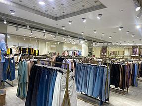 """Торгового оборудования для сети магазинов """"DressME"""" с использованием системы Vertical и металлических стоек Лофт. 6"""