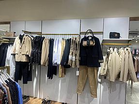 """Торгового оборудования для сети магазинов """"DressME"""" с использованием системы Vertical и металлических стоек Лофт. 4"""