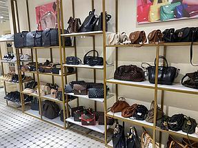 """Торгового оборудования для сети магазинов """"DressME"""" с использованием системы Vertical и металлических стоек Лофт. 8"""