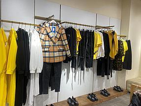 """Торгового оборудования для сети магазинов """"DressME"""" с использованием системы Vertical и металлических стоек Лофт. 2"""