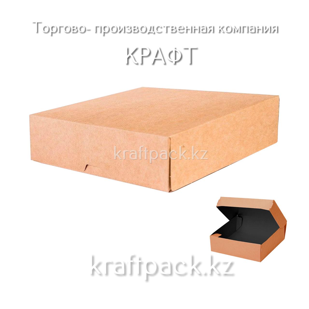 (Eco Tabox PRO 1500 BE) Коробка (Без окна) 200*200*40 Black Edition DoEco (25/125)