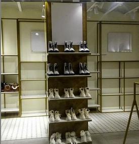 """Торгового оборудования для сети магазинов """"DressME"""" с использованием системы Vertical и металлических стоек Лофт. 10"""