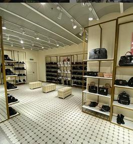 """Торгового оборудования для сети магазинов """"DressME"""" с использованием системы Vertical и металлических стоек Лофт. 5"""