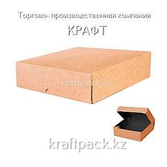 (Eco Tabox PRO 1500 BE) Коробка с окном 200*200*40 Black Edition DoEco (25/125)