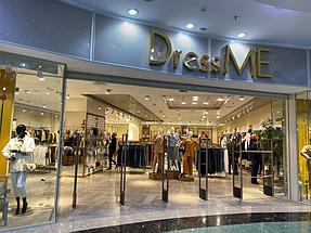 """Торгового оборудования для сети магазинов """"DressME"""" с использованием системы Vertical и металлических стоек Лофт. 9"""