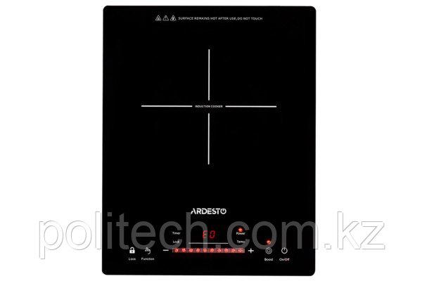 Настольная индукционная варочная поверхность ARDESTO ICS-B118, 1 конфорка, закаленное стекло, 1800Вт,