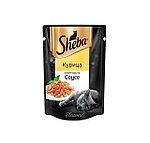 Sheba Pleasure ломтики в соусе, курица, пауч 85гр.