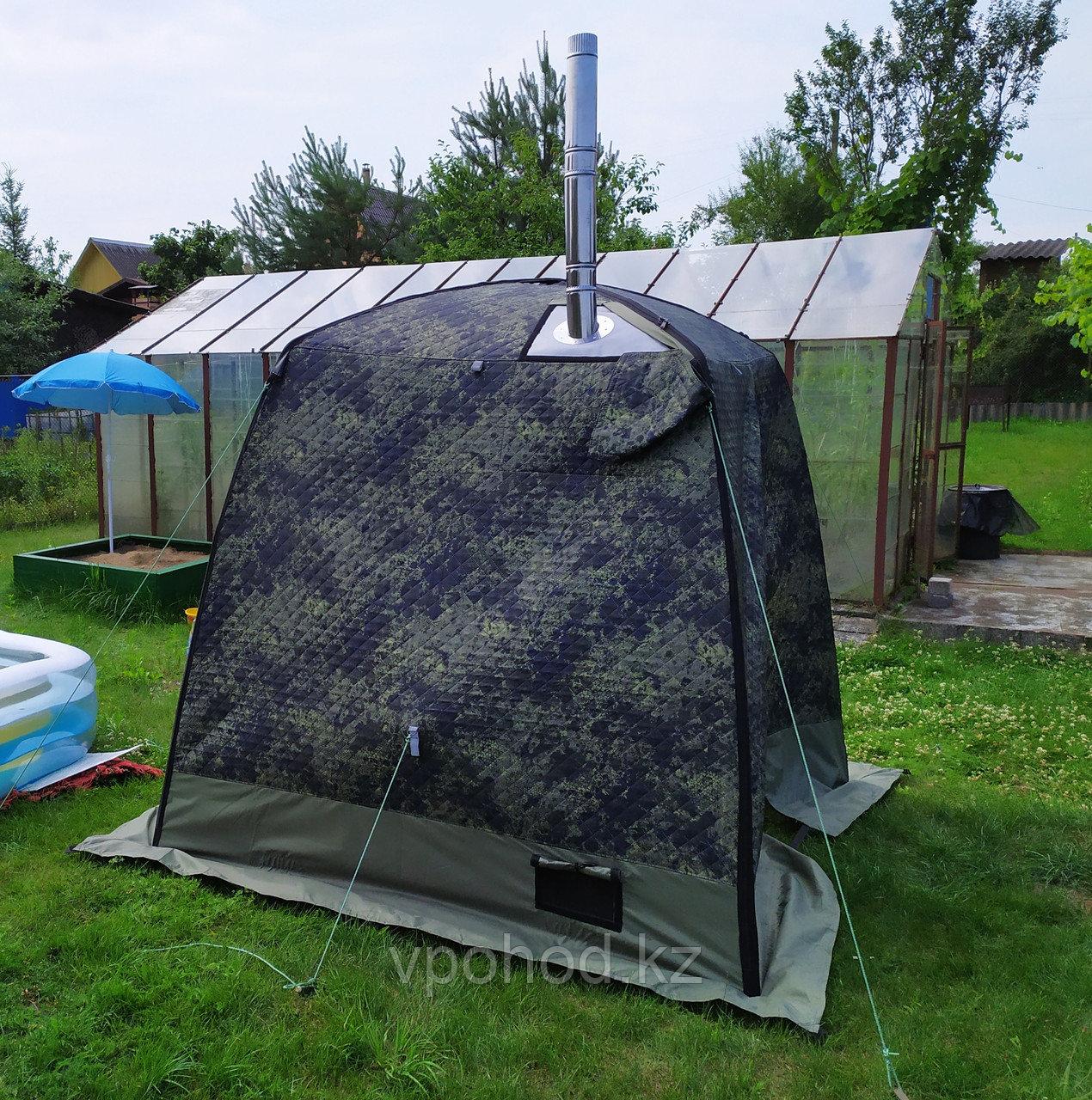 "Мобильная баня/палатка ""Морж"" sky"