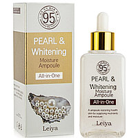 Сыворотка Leiya Pearl & Whitening Moisture Ampoule All-in-one 100 ml.