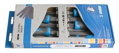 Набор напильников драчёвых в картонной упаковке - 762/5B UNIOR