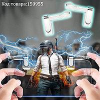 Триггеры игровые контроллеры универсальные карманные для смартфона с чехлом  прозрачные