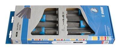 Набор напильников бархатных в картонной упаковке - 762/5S UNIOR