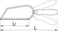 Мини-ножовка по металлу - 753W UNIOR, фото 2