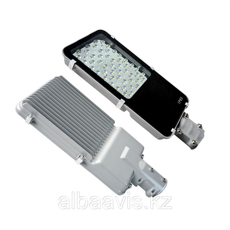 Фонари на улицу светодиодные консольные уличные светильники 40 ватт, СКУ, светильник на опоры