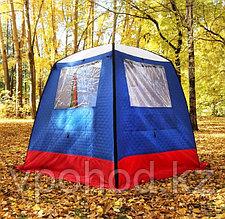 """Мобильная баня/палатка """"Морж"""" с 2 окнами"""