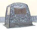 "Мобильная баня/палатка ""Морж"" с 2 окнами, фото 2"