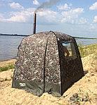 "Мобильная баня/палатка ""Морж"" с 2 окнами, фото 3"