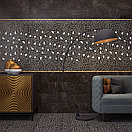 Кафель | Плитка настенная 25х75 Барселона | Barselona черный 5, фото 3