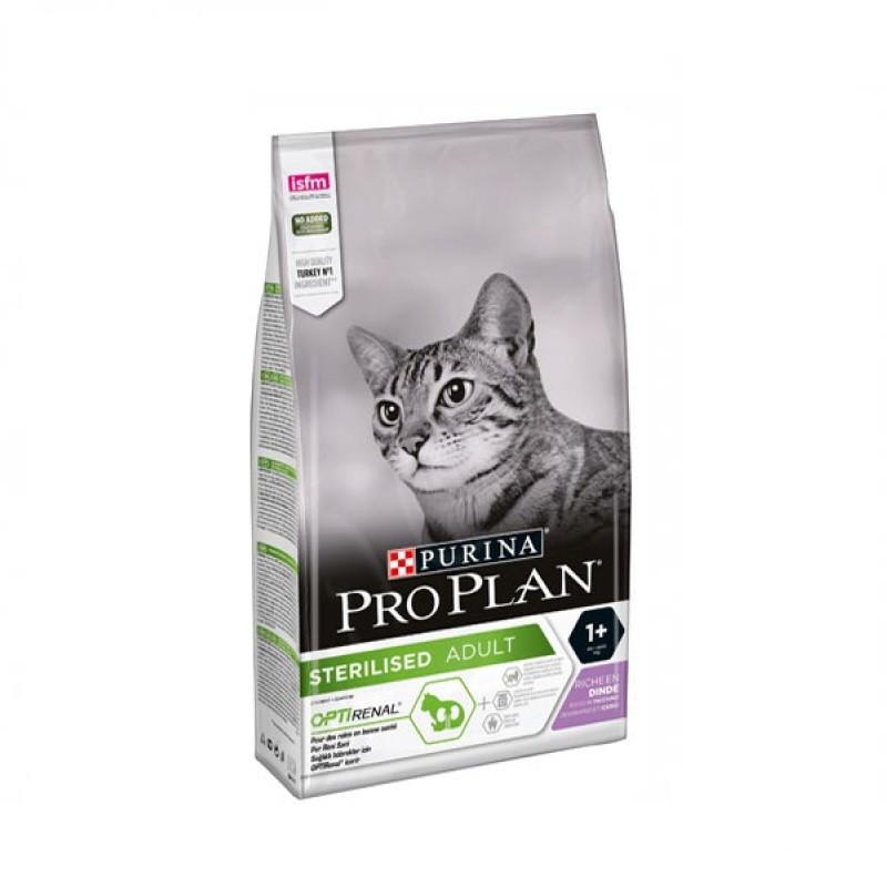 Purina Pro Plan Sterilised с индейкой, уп. 0,4 кг.