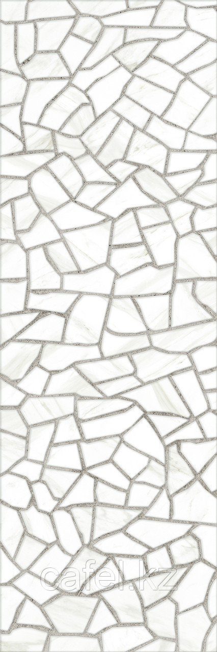 Кафель | Плитка настенная 25х75 Барселона | Barselona белый 7Д