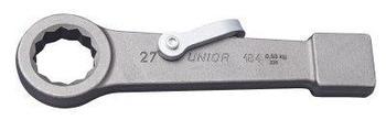 Ключ накидной ударный, для особо тяжёлых работ, для безопасной работы на высоте - 184/7-H UNIOR