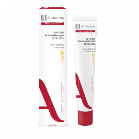 Ахромин ВВ-крем для любого типа кожи, туба 50 мл, Анти-пигмент