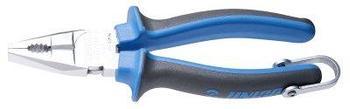 Плоскогубцы комбинированные, рукоятки BI, для безопасной работы на высоте - 405/1BI-H UNIOR