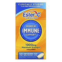 Nature's Bounty, Ester-C, Витамин С,1000 мг, 120 вегетарианских таблеток в оболочке