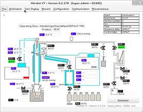 GECDIST V7 ПРОГРАММНОЕ ОБЕСПЕЧЕНИЕ ДЛЯ ДИСТИЛЛЯЦИОННЫХ УСТАНОВОК (дистиллятор)
