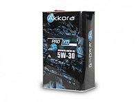 Моторное масло Akkora PRO 5w-30 XD 4L