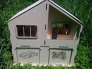 Дом гараж для машин