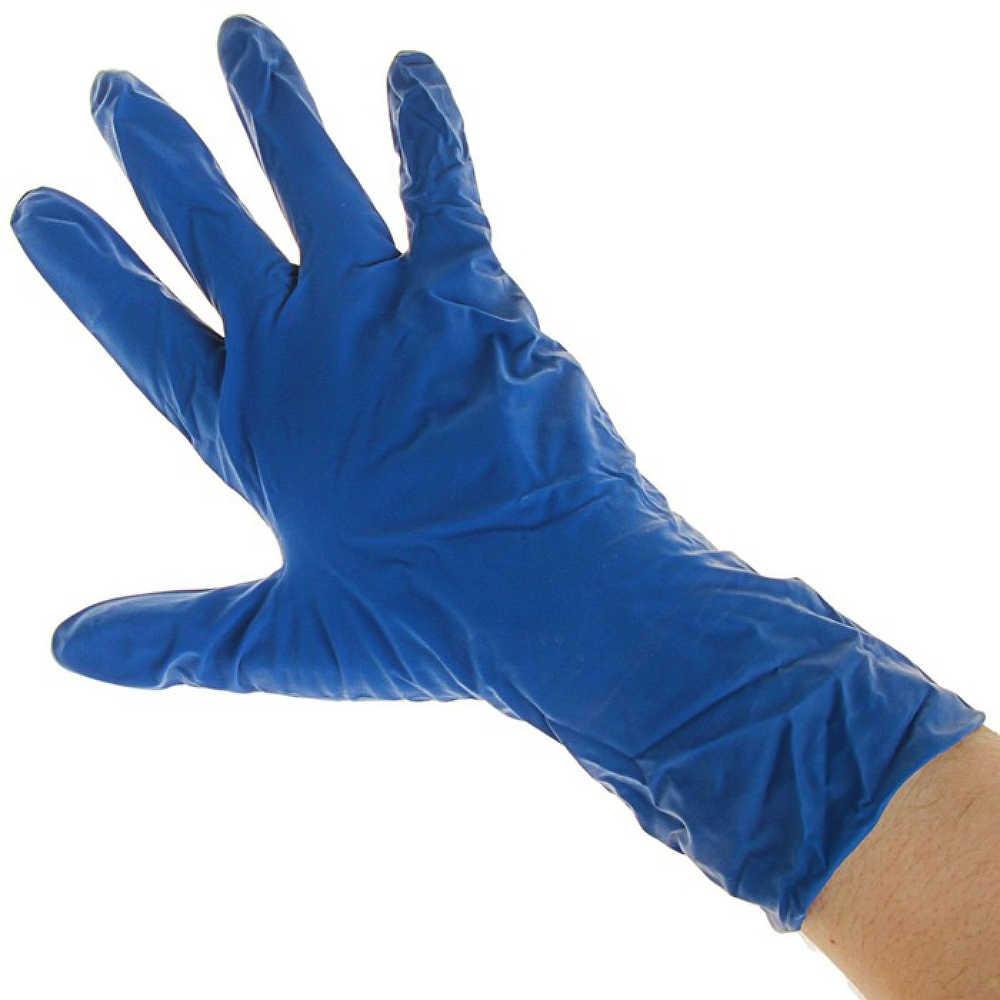 Перчатки нитрил неопудренные, нестерильные - фото 2
