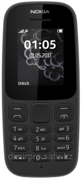 Мобильный телефон Nokia 105 черный