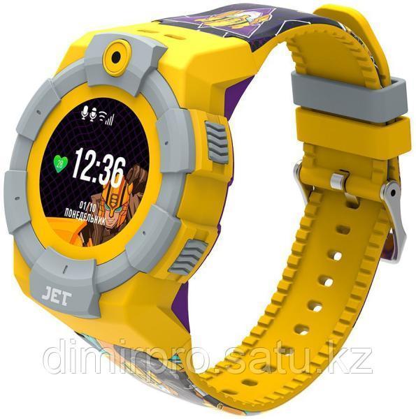 Смарт-часы Jet Kid Transformers Bumblebee желтый