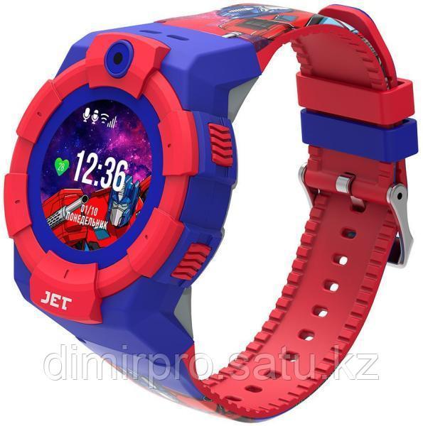 Смарт-часы Jet KID Optimus Prime красный
