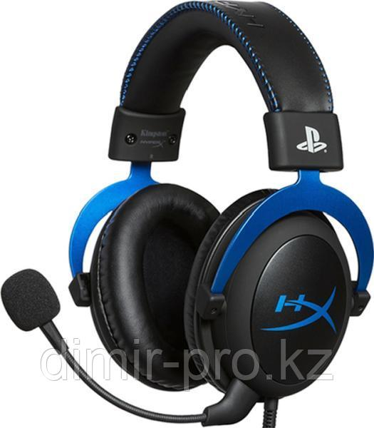 Наушники HyperX Cloud for PS4 HX-HSCLS-BL/EM черный-синий