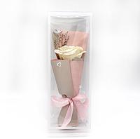 Мыло в виде Розы в подарочной упаковке