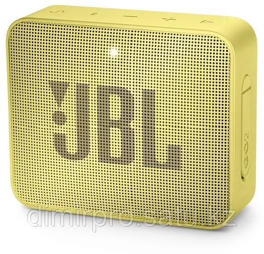 Портативная колонка JBL GO 2 Lemonade желтый