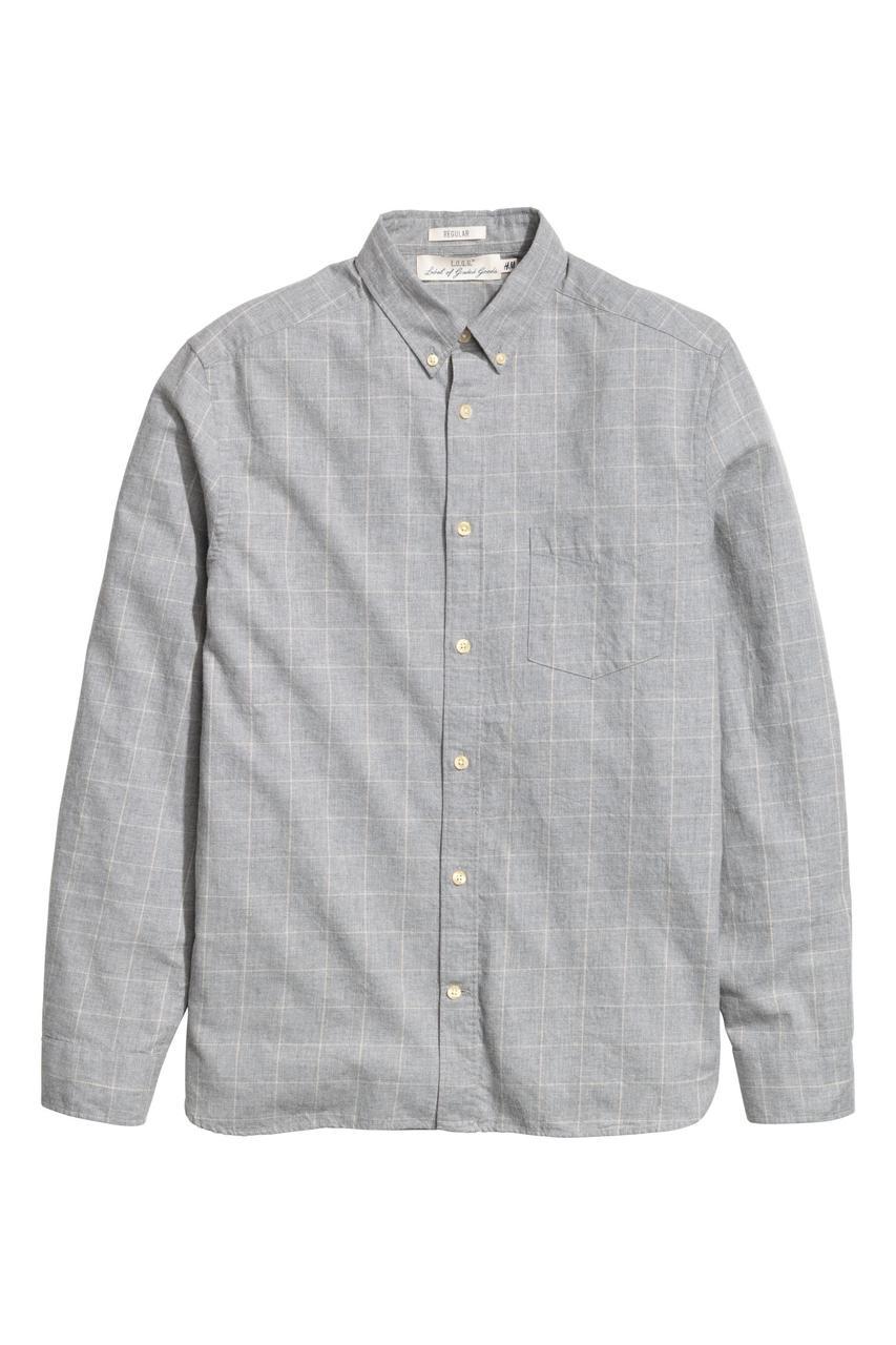 H&M Рубашка мужская - Е2