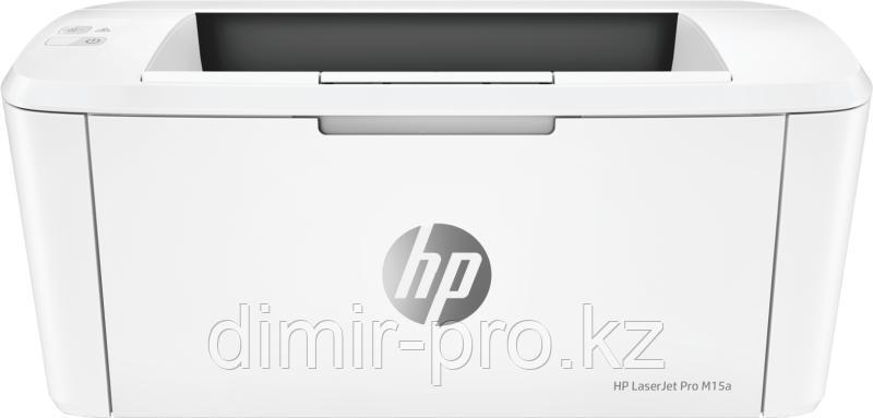 Принтер HP LaserJet Pro M15a белый